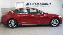 Tesla Model S 70D Seitenansicht R
