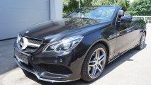 Mercedes-Benz E220 Bluetec Cabrio - LV offen
