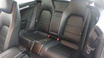Mercedes-Benz E220 Bluetec Cabrio - Rücksitzbank