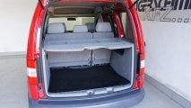 VW Caddy Kofferraum