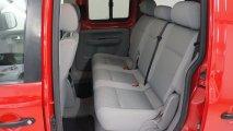 VW Caddy Sitze hinten